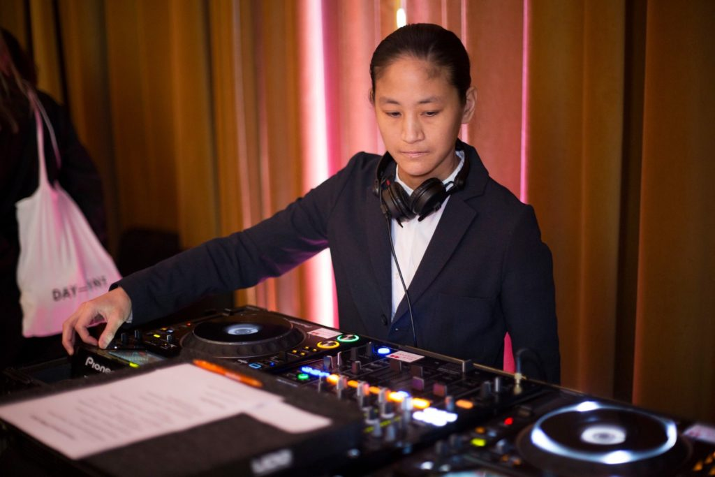 A picture of me Djing